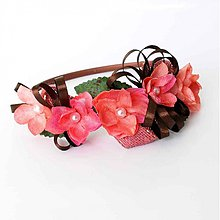 Ozdoby do vlasov - Vintage ružičky - 763012