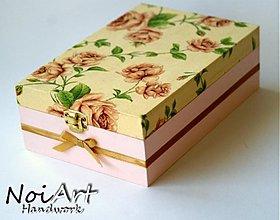 Krabičky - Nežná ružičková - 763100