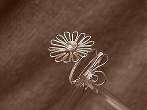 Prstene - Sedmokráska, prsteň - 76454