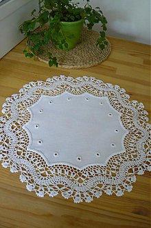Úžitkový textil - Obrus z flanderským okrajom - 767453
