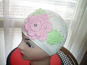 Detské čiapky - háčkovaná čiapka - 76751