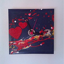 Hodiny - Hodiny-srdce - 769930
