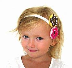 Ozdoby do vlasov - Donutková čelenka - 770500