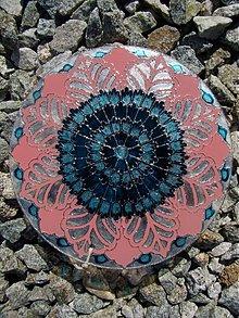 Dekorácie - Mandala-Kvety v Kvete - 778005