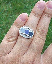 Prstene - 3 štvorce - 794351