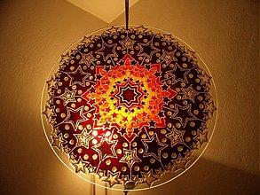 Dekorácie - Hviezdna Mandala - 801259