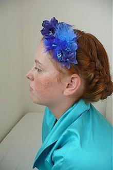 Ozdoby do vlasov - Modrá by Hogo Fogo - 812664