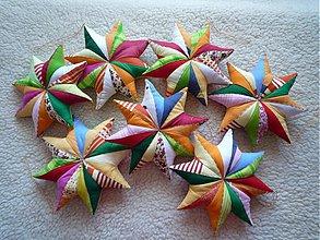 Dekorácie - Hviezdy pozemské - 816726