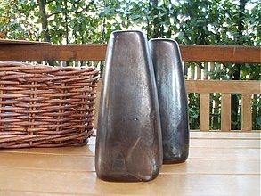"""Dekorácie - váza bronzová """"dve"""" alebo """"jedna"""" :o))) - 822719"""