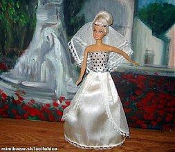 Hračky - Šité svadobné šaty - 82335