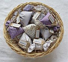 Darčeky pre svadobčanov -  Levanduľové vrecká - 823361