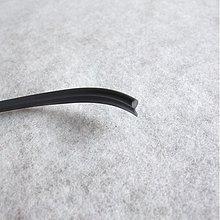 Iný materiál - Kéder, PVC paspuľka - šedý - 829314