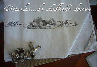 Úžitkový textil - utierka? obrusok? vintage HsH - 831462
