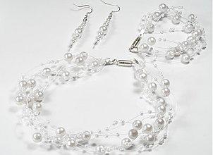 Sady šperkov - Perleťové pokušenie - set - 834135