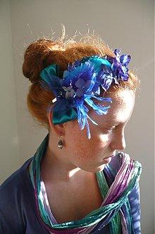 Ozdoby do vlasov - Smaragdové variácie by Hogo Fogo - 843437