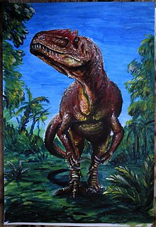 Obrazy - Allosaurus - 848954