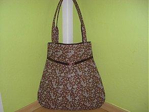Veľké tašky - Motýliky -hnedá - 852388