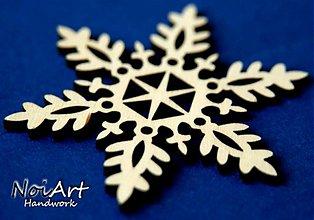 Dekorácie - Snehová vločka - 853026