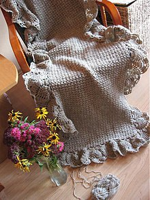 Úžitkový textil - Maxi pléd KVETONELA  - 855145