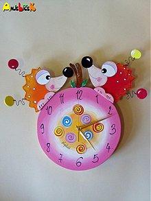 Hodiny - Hodiny ježkovia - 858879