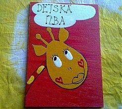 Tabuľky - menovka na dvere -DETSKÁ IZBA - 864879