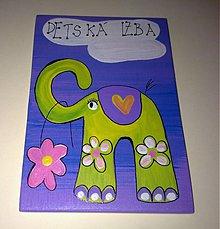 Tabuľky - menovka na dvere -DETSKÁ IZBA - 865033