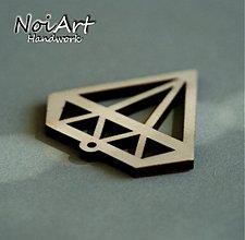 Materiál ručne robený - Diamant - 869616