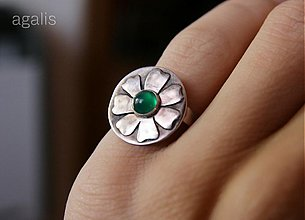 Prstene - Kvet (Ag 925/1000) - 875935