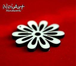 Materiál ručne robený - Kvetinka 3,5 cm - 876225