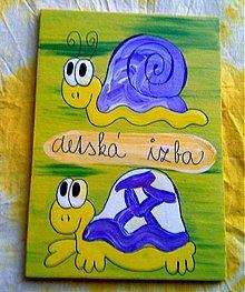 Tabuľky - menovka na dvere -DETSKÁ IZBA - 888858