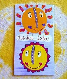 Tabuľky - menovka na dvere -DETSKÁ IZBA - 890368