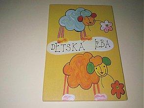 Tabuľky - menovka na dvere -DETSKÁ IZBA - 890941