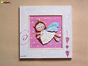 Obrázky - Obrázok lietajúci anjelik - 895984