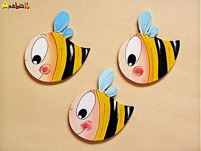 Magnetky - Magnetka včielka - 902538
