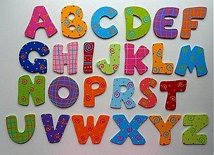 Tabuľky - ...drevená abeceda... - 90382