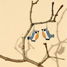 Náušnice - Náušnice - vtáčik (3) - 906533