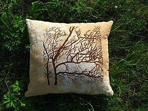 Úžitkový textil - vankúš stromový veľký - 914544