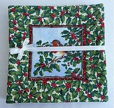 Úžitkový textil - Zvieratká v zime - 919429