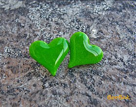 Náušnice - Láska z hráškového lusku - 920519