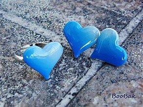 Prstene - Blue - prsteň - 922872