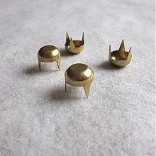 Iný materiál - VRCHLÍK VEĽKÝ mosadz (zlatý) - 937280