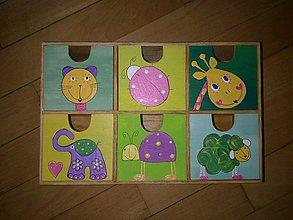 Krabičky - komoda pre slečinky - 943246