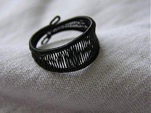 Prstene - Vypletený prsteň - 94348