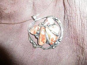 Náhrdelníky - Jaspis brekcia - náhrdelník - 945659