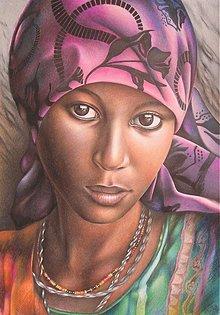 Kresby - Dievča z Jemenu - 95065