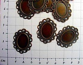 Komponenty - Lôžka filigránové/ 10 ks - 953456