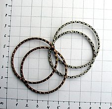 Komponenty - Kovový kruh, 42 mm/ 1 kus - 953653