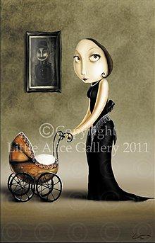 Grafika - Ilustrácia Mama - 971873