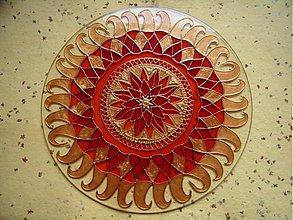 Dekorácie - Mandala-Letné ráno - 972633