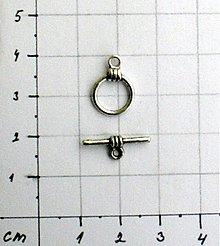 Komponenty - Amer. zapínnanie 11mm/ 1 ks - 974584